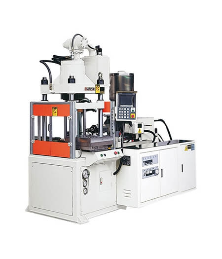 Slide Table-Vertical Clamping Injection Molding Machine