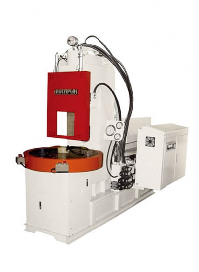 Rotary Table-Non-Tiebar Vertical Clamping Injection Molding Machine