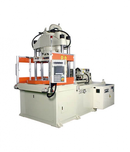 Rotary Table-Vertical Clamping Injection Molding Machine