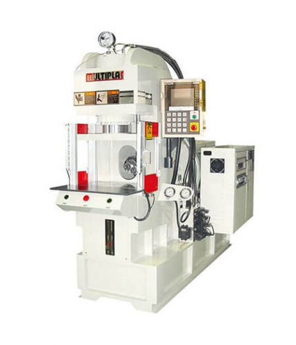 Fixed Bottom Platen-Non-Tiebar Vertical Clamping Injection Molding Machine